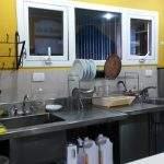 Cocina Hostel Lo De Trivi Chalten Santacruz Argentina El Santa Cruz