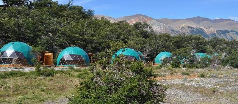 Camping Eco Domos en El Chaltén Santa Cruz Argentina